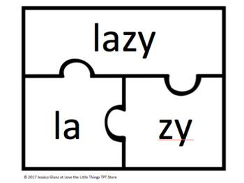 V-CV Word Puzzles- Part I