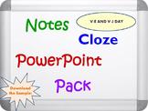 V-E Day and V-J Day Pack (PPT, DOC, PDF)