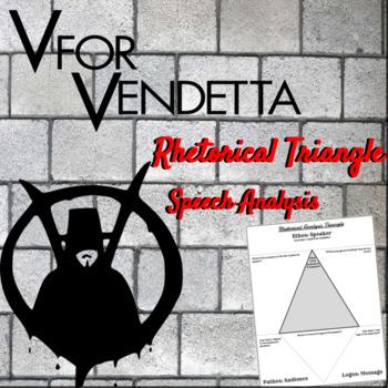 V For Vendetta Rhetorical Triangle Speech Analysis
