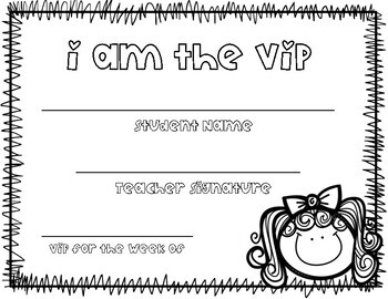 V.I.P Certificate