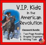 V.I.P Kids of the American Revolution (Grades 4-8)