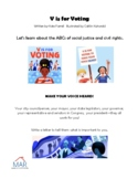 V IS FOR VOTING letter writing template