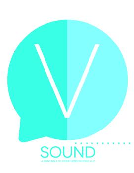 V Sound Printable Flashcards