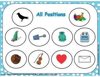 V Sound Articulation Play Doh Smash Mats: Initial, Medial, Final and Combo