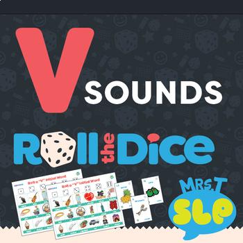 """V"" Sounds Roll a Dice Game-Freebie!"