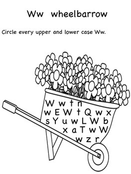 V,W,X,Y,Z Upper and Lower Case Letter Search