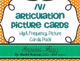 V Articulation Word Cards: High Frequency CVC Picture Word Cards Pack!