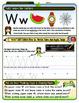 Vv, Ww, Xx, Yy & Zz Worksheet Bundle