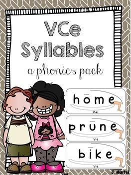 V-e Syllables Made Simple Magic e (a phonics pack)