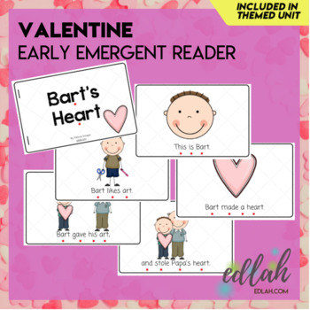 V is for Valentine's Day Themed Unit-Preschool Lesson Plans (one week)