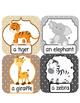 V1 ESL Conversation Vocabulary Lesson Safari Animals