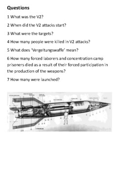 V2 Rocket Handout