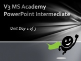 V3 MS Academy PowerPoint Intermediate Unit Day 1 of 3