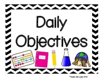 VA 3rd Grade SOL Objectives
