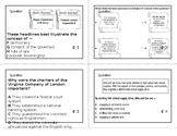 VA Civics & Economics SOL Task Cards