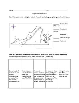 VA Geography Quiz