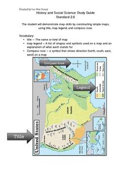 VA HSS SOL 2.6 Map Skills Study Guide