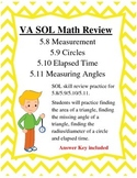 GRADE 5 MATH VIRGINIA SOL 5.8, 5.9, 5.10, 5.11 REVIEW