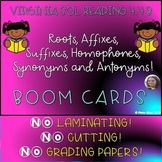 VA READING SOL 4.4 B TEST PREP BOOM CARDS AFFIXES, SYNONYMS, AND MORE!