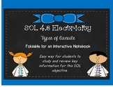 GRADE 4 VIRGINIA SCIENCE SOL 4.3 CIRCUITS FOLDABLE