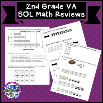 VA SOL 2nd Grade Math Reviews