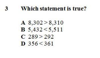 VA SOL 3.1abc, 3.2, 3.4 Place Value, Rounding, Comparing, Fact Families, Adding