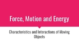 VA SOL 4.2 Force, Motion and Energy Review Cards