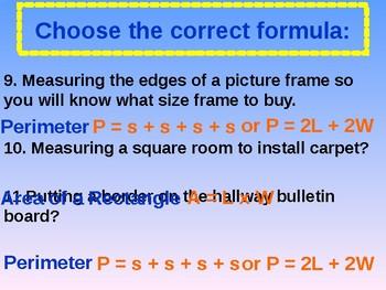 VA SOL 6.10 Choose the Correct Formula
