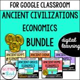 VA SOL Ancient civilizations economics for Google Classroom DIGITAL BUNDLE