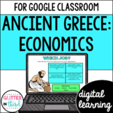 Ancient Greece Economics for Google Classroom DIGITAL