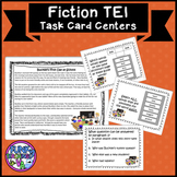 VA SOL Fiction with TEI Practice Task Card Centers