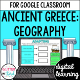 Ancient Greece Geography for Google Classroom DIGITAL