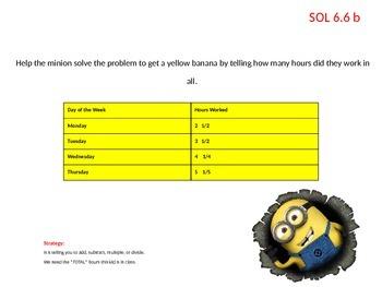 VA SOL Math Grade 6 Review Tabb Middle School 2014-2015 Despicable Me