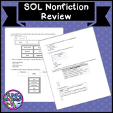 VA SOL Nonfiction with TEI Practice
