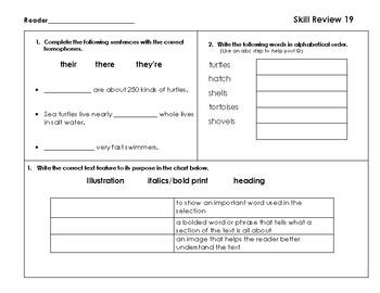 VA SOL Reading Test Prep Review 19