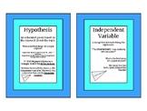 VA SOL Scientific Investigation Vocabulary Posters