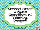 VA SOL Standards of Learning 2nd grade posters