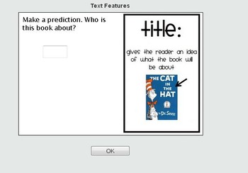 VA SOL TEI Text Features Online Self Checking Quiz 2nd, 3rd, 4th