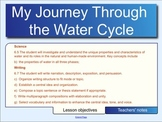 VA SOLs Science 6.5 and Writing 6.7 - Journey Through the Water Cycle