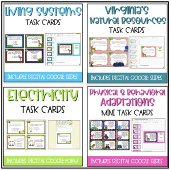 VA Science Task Cards: BUNDLE