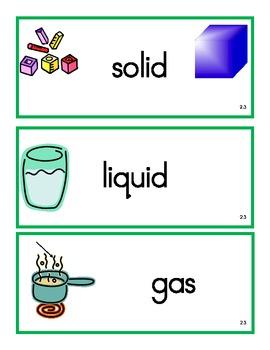 VA Science Vocabulary Cards Grade 2