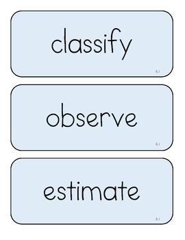VA Science Vocabulary Cards Grade 5