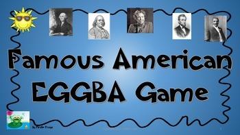 VA Social Studies SOL 1.2 Famous American Review Game