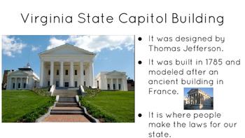Virginia State Symbols introduction