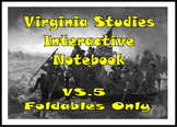 VA Studies Interactive Notebook - VS.5 American Revolutionary War Foldables