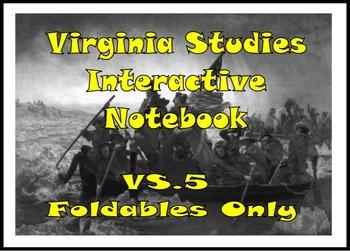 VA Studies Interactive Notebook - VS.5 American Revolutionary War Foldables