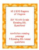 VA Studies Reading SOL Passage VS 2 10 Virginia