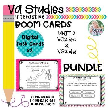 VA Studies- Unit 2 Boom Cards (x2)