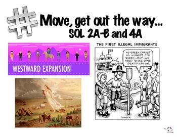 VA U.S. History SOL History in Hashtag Bulletin Board