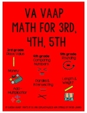 VA VAAP Math Worksheets